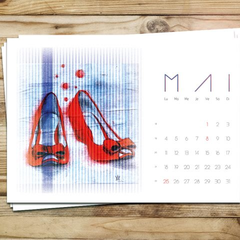 Calendrier du mois de Mai pour le blog Smell of Female