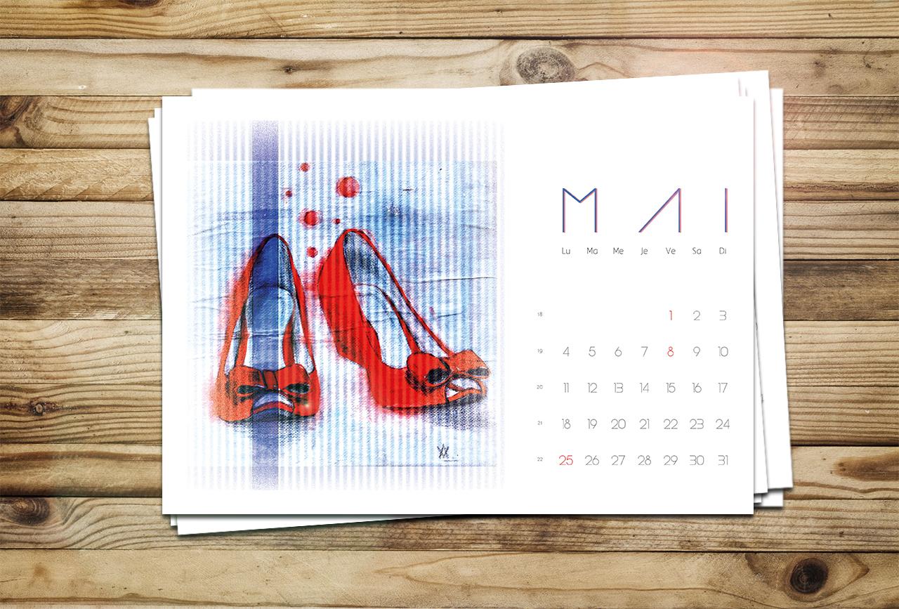 Calendrier du mois de Mai pour le blog Smell of Female
