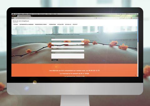Formulaire de contact du site de Coline Trilles - Masseuse à Sommières